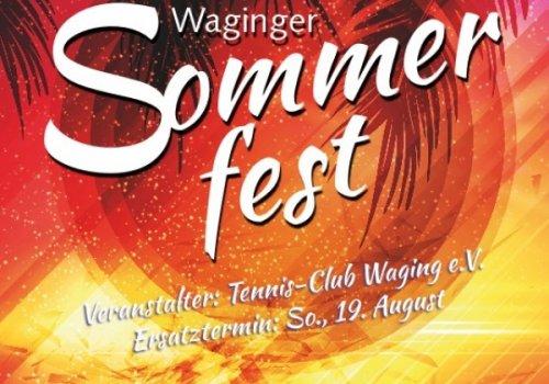 Sommerfest des TC Waging am Sa., den 18.…